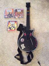 Ps3 Guitar Hero 3 Gibson Les Paul Guitar Dongle 3 Guitar Hero games Original Box