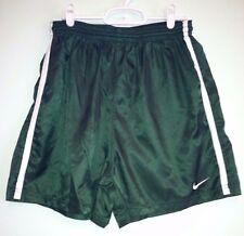 Men's Nike Green Athletic Running Exercise Boxing Shorts Large