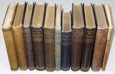 10 Books by ROBERT LOUIS STEVENSON, VIRGINIBUS PUERISQUE 1st Ed, Bibliography +