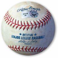 Zack Greinke Game Used Baseball 4/5/13 Dodgers  Pitch in Dirt Marte EK217116