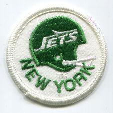 "1978-89 NEW YORK JETS NFL FOOTBALL 2"" HELMET TEAM PATCH"