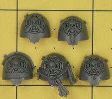Warhammer 40K SM Dark Angels Deathwing Command Terminator Shoulder Pads (A)