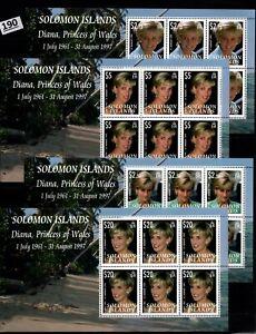 /// SOLOMON ISLANDS - MNH - PRINCESS DIANA - ROYALTY