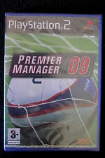 PS2 : PREMIER MANAGER 09 - Nuovo, sigillato, ITA ! Inizia una nuova stagione !