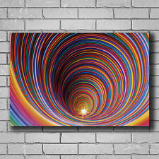 H826 Wormhole - Blacklight Hot Wall Poster Art 20x30 24x36IN