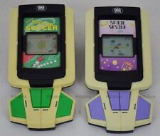 2 Videogioco Handheld GIG SOCCER/SPACE RESCUE Video GAME & WATCH Retrogame-1ET