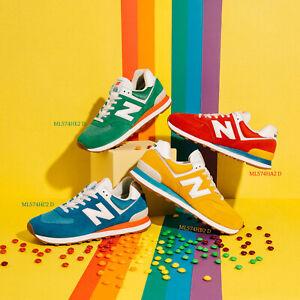 New Balance 574 Rainbow Pack Gum Suede Men Women Unisex Lifestyle Shoes Pick 1