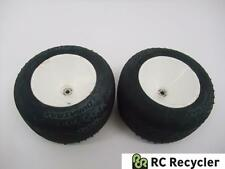 Pair of Team Losi Pin Tires & Dish Wheels Front 1/10 2WD Buggy