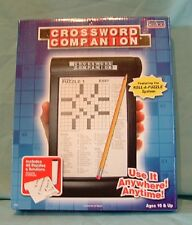 Cadaco Crossword Companion 48 Puzzles & Solutions Roll-A-Puzzle System