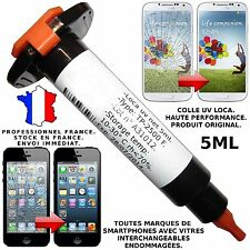 LOCA UV COLLE GLUE 5ML GALAXY I9300 I9500 IPHONE 4 5 RÉPARATION VITRE ÉCRAN LCD