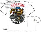Rat Fink T Shirt 100% Ford Big Daddy Tee 65 Falcon 1965 Ed Roth Sz M L XL 2XL 3X