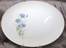 "Fashion Manor Fine China - Wild Flower - 14"" Oval Platter - Made in Japan"