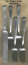 Rogers Antoinette Silverplate 5 pc.