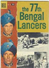 Four Color #791 The Bengal Lancers 1957 Photo Cover VG+