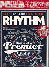 RHYTHM 209 November 2012 VIDEO DRUM LESSONS CD Learn to Play QUEEN BLOC PARTY