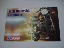 advertising Pubblicità 1980 MOTO YAMAHA XS 1100