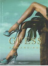 PUBLICITE ADVERTISING 2010   GUESS by MARCIANO chaussures escarpins