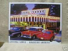 Steak and Shake Drive In Clasic Cars Tin Metal Sign 50's NEW