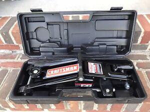 Craftsman 2-1/4 Ton SUV Trolley Jack, Hydraulic Garage Jack Item# 875505230-Used