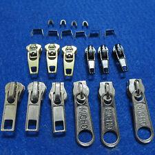 22er Metall Reißverschluss Reparatur Set Zipper Schieber Zip Repairset Sewing