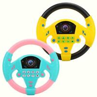 Copilot Simulated Steering Wheel Racing Driver Toy Educational Sounding Gift❤GF