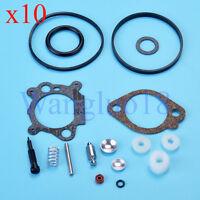 10X Carburetor Repair Kit For BS 492495 493762 498260 3.5HP 4HP 5HP