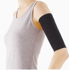 2x Ladies Slimming  Arm Shaper Cellulite Fat Buster New Wrap/Belt Black