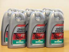 15,-€/l Motorex Cross Power 2T 12x 1 L  vollsyn 2Takt Mischöl