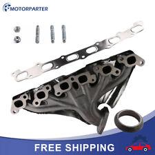 Exhaust Manifold Set For 02-05 Chevrolet Trailblazer 02-05 Gmc Envoy 6cyl 4.2L (Fits: Oldsmobile)