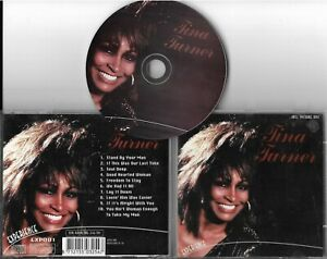 "CD PICTURE 10 TITRES TINA TURNER ""TINA TURNER"" BEST OF 1996 Experience EXP001"