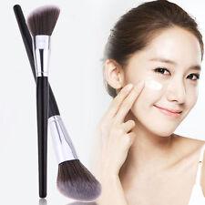 1Pcs New Oblique Head Angled Shape Face Cheek Contour Powder Blush Makeup Brush