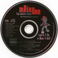 Main One The Ghetto Child: Learn 2 Be A Man 4 Self PROMO MUSIC AUDIO CD 7 Mixes