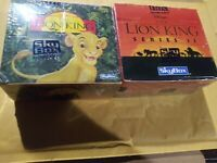 Disney's The Lion King Series 1 & 2 Trading Cards Factory Sealed Boxes Lot Of 2