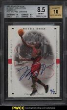 2001 Ultimate Collection Buyback '98 SP Authentic Michael Jordan AUTO /9 BGS 8.5