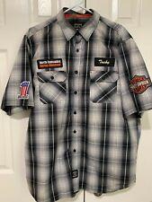 Harley-Davidson Shop Shirt XL plaid Genuine Work Wear