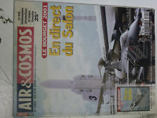 16$$ Revue Air & Cosmos n°1801 Salon Bourget 2001 + supp Special Mirage Rafale