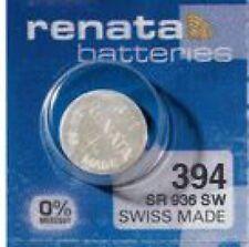 4 x Renata 394 Batterie V394 SR45SW SR936SW  Uhrenbatterie 1,55V 80mAh