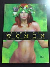 """FRANK CHO """"WOMEN"""" SOFTCOVER ART SKETCHBOOK SIGNED LIMITED HOT MATURE READERS"""