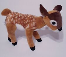 "Fiesta Plush Fawn Brown Spotted StandiBaby Whitetail Deer 10"" Stuffed Animal Toy"