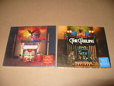 The Feeling Turn It Up/With Out You 2 Digipak cd Singles 2008 Near Mint Conditio