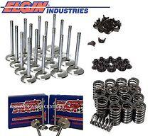 "Chevy S/B 327 350 400 2.02"" & 1.6"" Valves, Z28 Style Springs, Retainers & Locks"