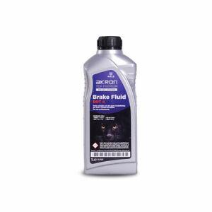 1L AKRON Brake Clutch Fluid DOT4  SAE J 1703 FMVSS 116 DOT 4 ISO 4925