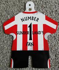 """Sunderland Car/Bedroom Window Hanger """"Sunderland's Number 1 Fan"""""""