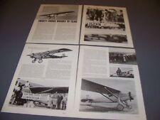 "VINTAGE..RYAN NYP ""SPIRIT OF ST. LOUIS"" HISTORY..HISTORY/PHOTOS..RARE! (89L)"