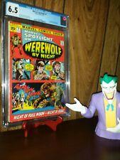 Marvel Spotlight #2 CGC 6.5 Werewolf By Night Marvel CGC Disney Moon Knight MCU