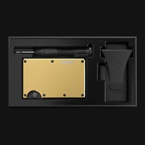 The Ridge 18 Karat Gold Plated RFID Blocking Minimalist Wallet 🔥 BRAND NEW 🔥