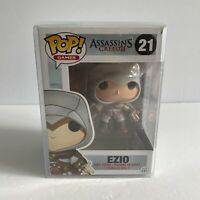 Funko Pop Games Assassin's Creed 2 Ezio Vinyl Figure #21 - Vaulted w/ Protector