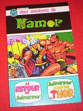 Artima / Arédit     Namor   N° 3 et 4  album relié 12     avr28