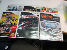 Wii need for speed, nerf, madden 07 White Snowboarding Lego Star Wars Glee