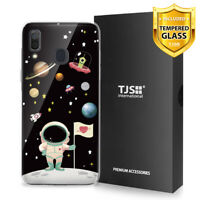 For Samsung Galaxy A20 A30 Phone Case TJS Juno Astronaut +Tempered Glass